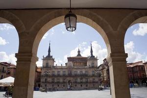 Plaza Mayor, Leon foto