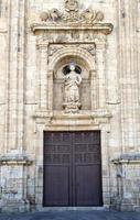 St Nicholas gevel in Villafranca del Bierzo. foto
