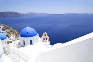 kerk op Santorini foto