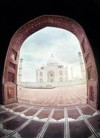 Taj Mahal in India foto
