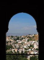 spanje, andalusië, granada, alhambra. foto