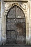 middeleeuwse deuropening foto