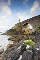 petit minou leuchtturm in der Bretagne foto