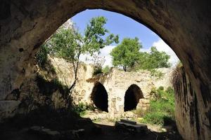 sjeik badr moskee-ruïnes, israël foto