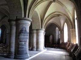 crypte van de kathedraal van canterbury foto