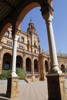 plaza espana, sevilla foto