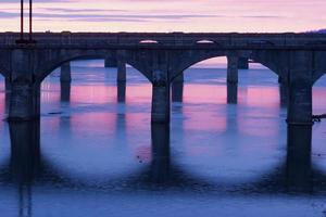bruggen van Harrisburg foto