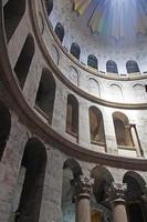 Israël. Jeruzalem. kerk van het Heilig Graf. graf jezus christus foto