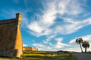 fort van Santa Teresa. rocha. Uruguay foto