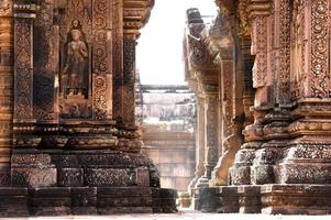 tempel banteay srei foto
