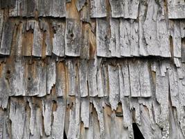 textuur van de oude houtsnippers foto