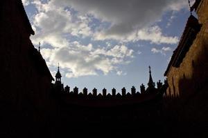 oude stad in Warschau foto