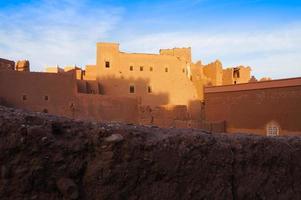 taourirt kasbah, ouarzazate in marokko foto