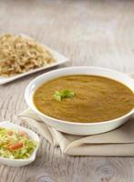 dhansak curry met bruine rijst, india