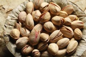 pista - een droog fruit uit berggebieden van het Midden-Oosten foto