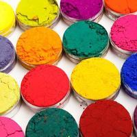 kleurrijke kleurstoffen foto