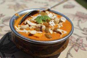 Indische curry foto