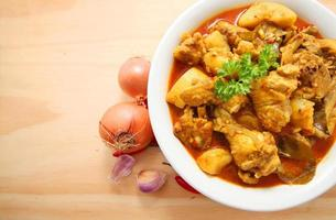 Curry kip foto