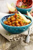 kikkererwten curry foto