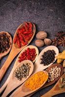 specerijen, ingrediënten foto