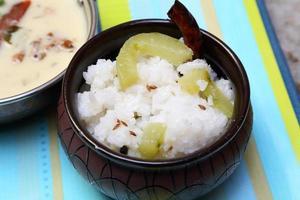 jeera rijst basmatirijst op smaak gebracht met gebakken komijnzaad foto
