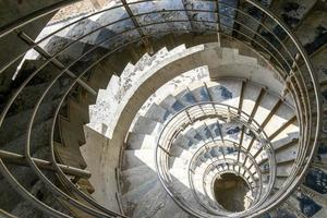 trappenhuis in aanbouw