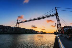hangende brug van vizcaya foto