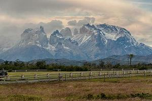 Patagonië, Zuid-Amerika. foto
