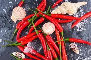 hete rode chili peper