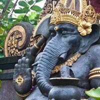 standbeeld van ganesh foto
