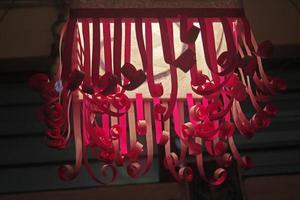 akash kandil (diwali-lantaarn), india foto