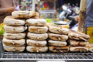Vietnamese specialiteit bananenrijstcake