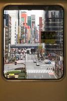 het uitzicht op de stad foto
