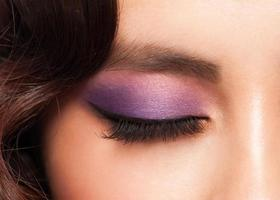 oog met make-up foto