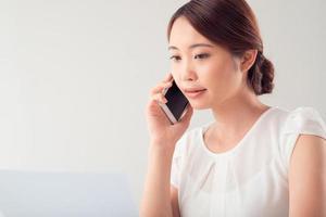 telefonisch gesprek foto