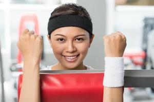 spieren opbouwen foto