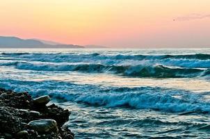 idylle aan zee foto