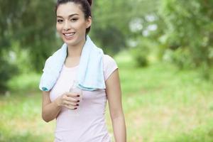 joggen gedaan foto