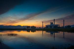 centrale moskee songkhla, thailand foto