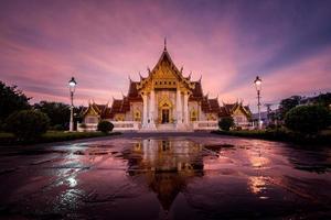 marmeren tempel foto