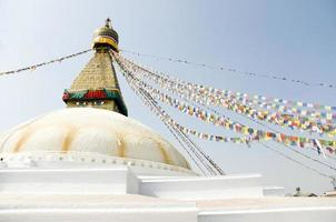 boudhanath, bodnath stupa, nepal foto