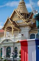 koninklijk groot paleis in bangkok, thailand foto