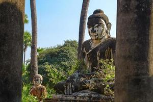 yedanasini hpaya. inwa (ava). Myanmar foto