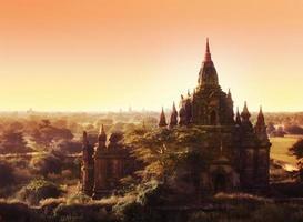 tempels in bagan, myanmar