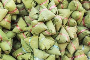 traditioneel Chinees eten of ba jang foto