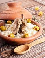 Marokkaanse tajine met lamsribben foto