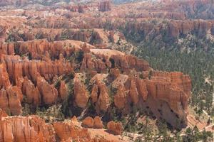 landschapsscène van Bryce National Park foto