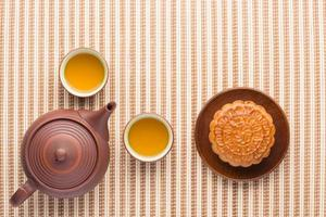 maancake en thee
