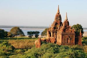 tempels in bagan