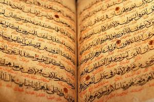 oude koranpagina